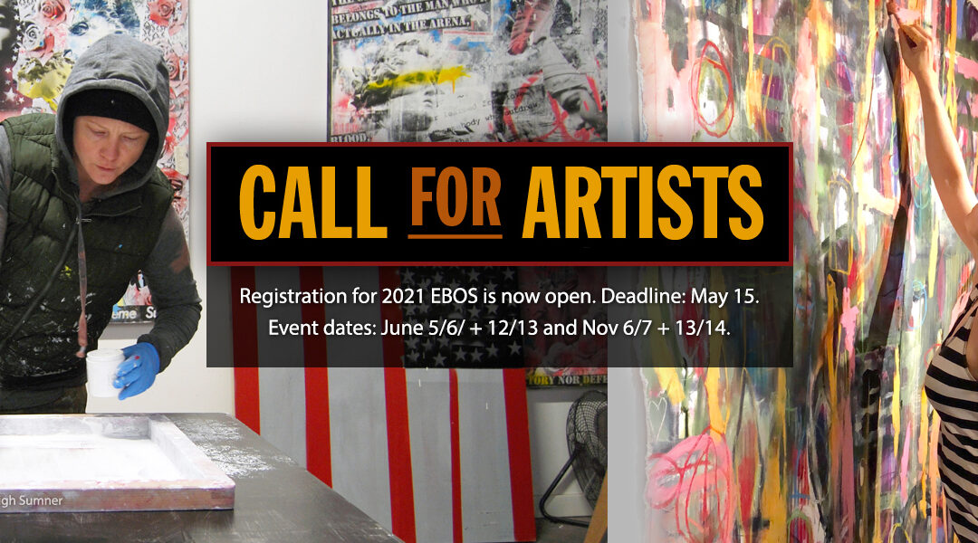 Call For Artists Now Open!