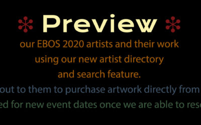 Preview EBOS 2020 Artists